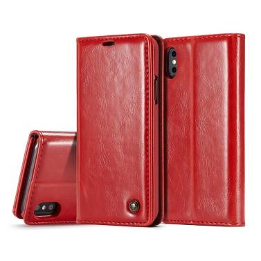 CaseMe Multifunktions Telefon Fall Abdeckung Pu-leder Schutzhülle Brieftasche Telefon Fall Flip Holster Tragetasche Kartenhalter für iPhone X