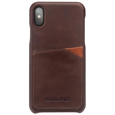 QIALINO Multi-Funktions-Handy Case Cover PU-Leder Schutzhülle Kartensteckplatz für iPhone X