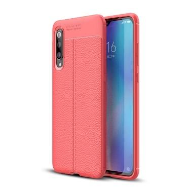 Telefon Fall Leder TPU Telefon Schutzhülle Einfache leichte Handy-Schutz für Xiaomi 9