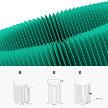 Verbundfilter für Mijia-Luftreiniger F1 HEPA-Filtration Dreischichtfilter PM2.5 Formaldehydentfernung