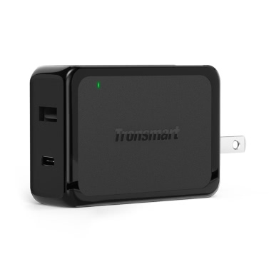 Original Tronsmart W2PTE Wall Charger Type-C USB Ports 3A Max Qualcomm Quick Charge 3.0 Charger Kit Samsung Galaxy S7 S6 Edge Plus Xiaomi 5 Google Nexus 6P 5X LeTV One Max Pro
