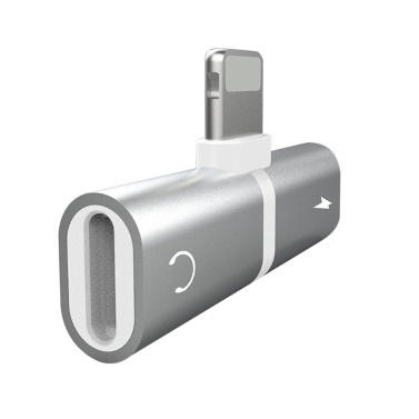 56% OFF Lightning Adapter 2 In 1 for iPhone Earphone Adapter,limited offer $2.49