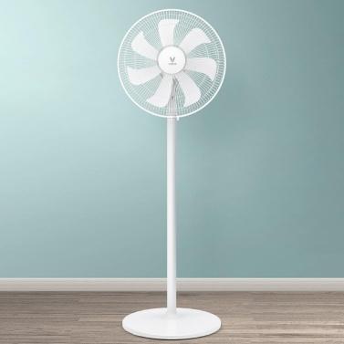 VIOMI Elektrischer Ventilator Stehender Home-Office-Ventilator Sommerluftkühler Klimaanlage Natürlicher Wind 3 Windgeschwindigkeit Von Xiaomi Youpin