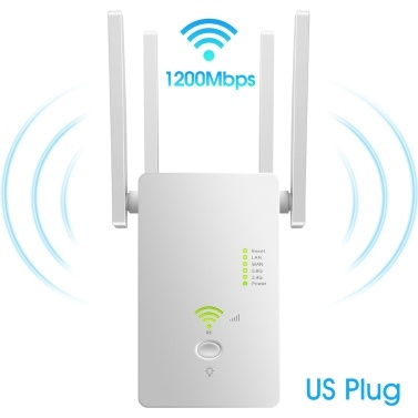 AC1200 Mbps Wireless Access Point Long Range Extender WiFi Repeater