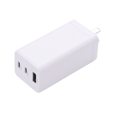GaN Charger 65W USB QC3.0 PD2.0 Travel Charger