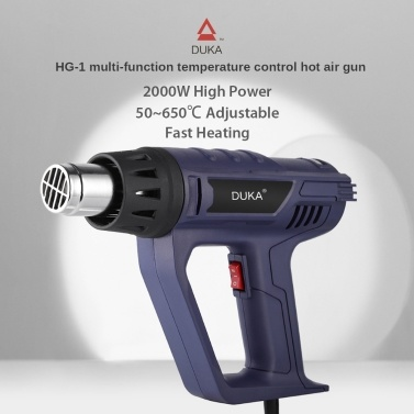 DUKA Multi-Function Hot Air Gun HG-1 2000W Air Heater