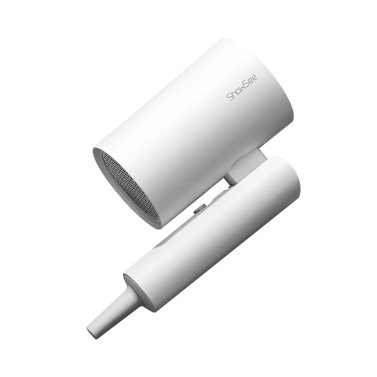 ShowSee A4-W Elektrischer Anionen-Haartrockner Negativionen-Haarpflege-Gebläse 1800 W EHD Konstanttemperatur-Heiß- / Kaltwindschalter 360 Grad gedrehter Tuyere-Schnelltrockner