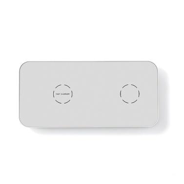 N19 Ultra-Slim 2 in 1 kabelloses Ladegerät