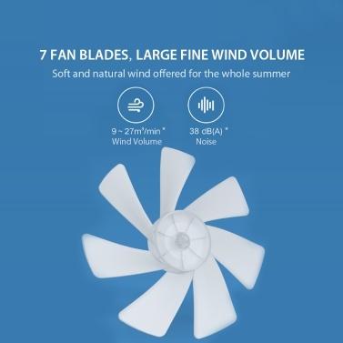 Xiaomi Mi Stehventilator Smart Floor Desktop-Ventilator Tragbare Hausklimaanlage Luftkühler 3 Windgeschwindigkeit APP Fernbedienung für Home Office 220V