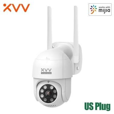 Xiaovv PTZ Panorama IP Camera XVV-6620S-P1 1080P HD Home Security Camera Human Detection Wi-Fi Waterproof Dustproof Outdoor Camera