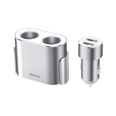 Baseus Two-in-One Cigarette Lighter with Vehicle-mounted Charging Function Car Charger