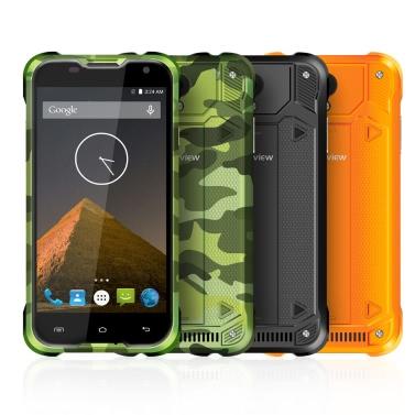 """Blackview BV5000 IP67 Wasserdicht Smartphone 4G FDD-LTE 3G WCDMA Staubdicht Stoßfest Robust Outdoor Drfy Android 5.1 OS Quad Core MTK6735P 5.0"""" IPS Bildschirm 1.0GHz 64bit 2GB RAM 16GB ROM 5MP 13MP Doppel Kameras OTG"""