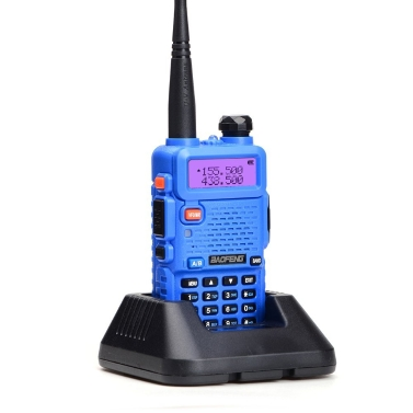 BAOFENG UV-5R Interphone Radio FM Transceiver Walkie Talkie Two Way
