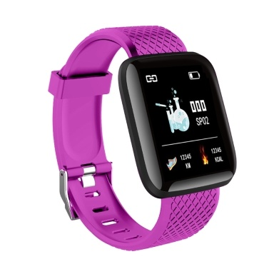 Intelligente Armband Fitness Tracker Universal Schrittzähler Pulsmesser Sport Armbanduhr
