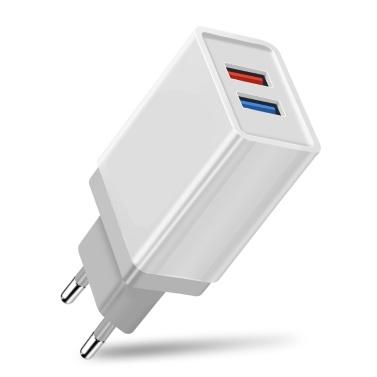 Cargador de teléfono rápido USB UE Adaptador de corriente