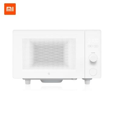 Xiaomi Mijia Mikrowellenherd Smart APP Fernbedienung 700 Watt Feuerkraft 20L Große Kapazität 60 s Schnelle Heizung Edelstahl Vier Schichten Anti Wave Barrier Haushalt Küche Liefert