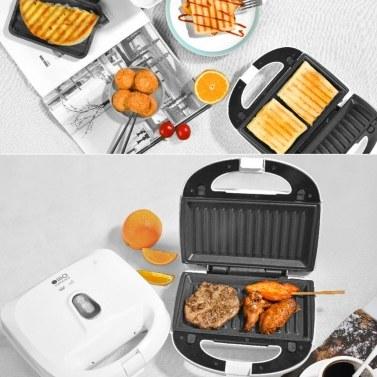 Xiaomi Youpin Silencare Multifunktionale Haushaltsfrühstücksmaschine Sandwich Brat- und Röstmaschine Waffel Light Food Kochmaschine 750W 220V