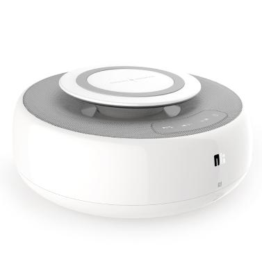 NILLKIN MC2 BT Lautsprecher mit schneller drahtloser Ladefunktion Hi-Fi Sound Lautsprecher Qi Standard drahtloser Ladevorgang für iPhone X iPhone 8 Samsung S8