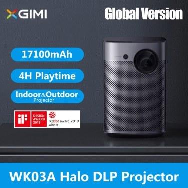 Versión global XGIMI WK03A Halo DLP Projector