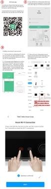 Xiaomi Youpin TOKIT Mini Smart Ofen 12L Schnellheizung Backofen Heißluftfermentation Automatische Ofenbäckerei Arbeiten Sie mit Mijia APP
