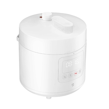 Orginal Xiaomi Mijia Smart Electric Pressure Cooker 2.5L APP Control Instant One-Touch Pressure Pot Rice Cooker/Steamer/Slow Cooker/Warmer w/Measuring Cup/Rice Paddle/Soup Ladle/Recipes 220V