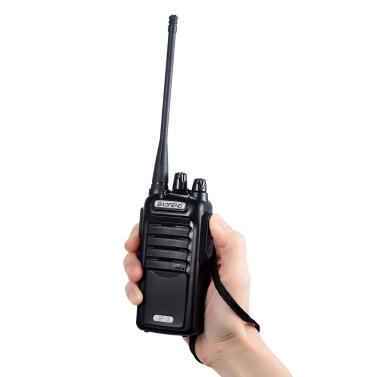 Original BAOFENG JP-3 Mobile 2-wege Radio Walkie Talkie UHF CTCSS / DCS Handheld Transceiver Sprechfunk FM Radio mit Ständer