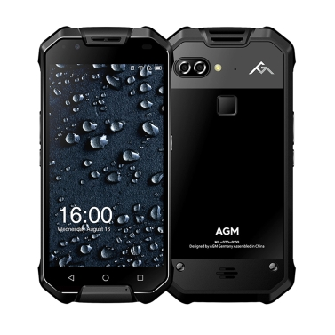 23% OFF AGM X2 Tri-proof 5.5 inches Smartphone 6+64G,limited offer $467.99