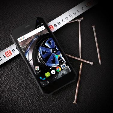 NOMU S10 Pro Outdoor Ragged Tough Phone IP68+ Waterproof Dustproof Drop-resistant Shock-resistant 4G FDD-LTE 3G WCDMA 5.0 Inches HD 3GB RAM+32GB ROM