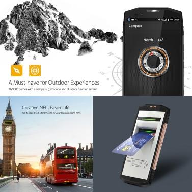 Blackview BV9000-F IP68 4G Smartphone  4GB RAM 64GB ROM