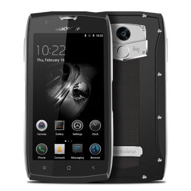"Blackview BV7000 Pro Tri-prueba Smartphone IP68 Impermeable 4G LTE A Prueba de Choques a Prueba de Polvo (Android 6.0, Pantalla 5.0"", MTK6750T Octa-core, 4GB+64GB, Cámara 13MP, Dual SIM, 3500mAh Batería, E-compass)"
