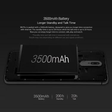LEAGOO M8 Pro 4G Smartphone 5,7 Zoll HD-Bildschirm 2 GB RAM 16 GB ROM Dual-Rückfahrkamera