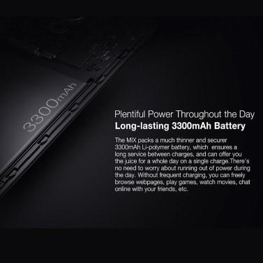 Ulefone MIX Mobile Phone 4G Phone 5.5inch HD Corning Gorilla Glass 3 Screen 4GB RAM 64GB ROM