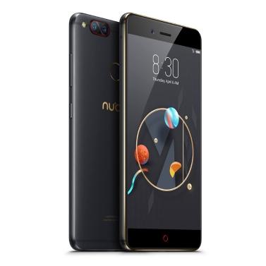 5 € de réduction pour Nubia Z17mini NX569J 5,2 pouces FHD Gorilla écran avant 16MP 13 + 13MP double retour caméras 4 Go de RAM + 64Go ROM 4G Smartphone seulement € 146,07
