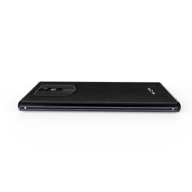 MAZE COMET Echtes Leder 5,7 Zoll 18: 9 Lünettenloses Handy 4G-LTE Fingerabdruck-Smartphone 4GB RAM 64GB ROM
