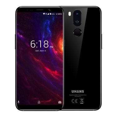 UHANS i8 Face Recognition 5.7-inches 18:9 Full Screen Smartphone  4GB RAM 64GB ROM