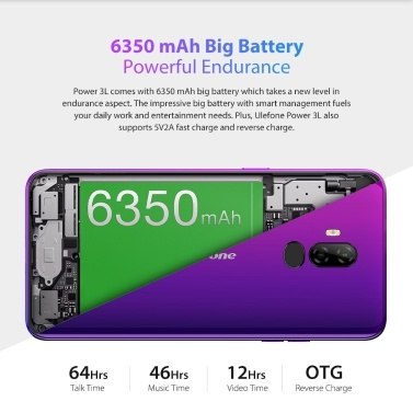 Ulefone Power 3L Mobile Phone