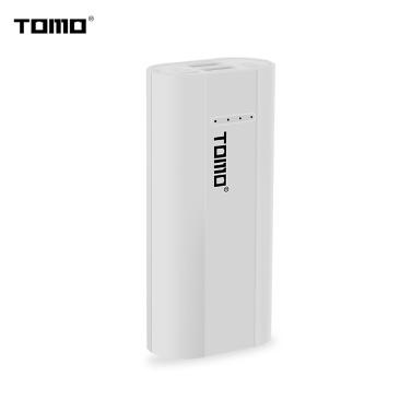 TOMO P2-Ladegerät zum Aufladen von 2 x 18650 Li-Ion-Universal-Akku-Energie-Bank DIY-Smart-Portable-Akku-USB-Ladegerät mit LCD-Display