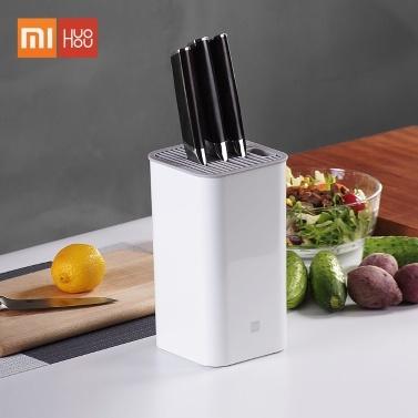 Xiaomi Huohou Supporto per coltelli da cucina Portautensili multifunzione Portablocchi Organizer Piani cottura Contenitore per la cucina Lavabile
