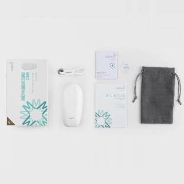 Xiaomi Wellskins Anion Hair Comb Antistatischer Haarbürstenmassagekamm Salon-Haar-Styling-Tool Tragbarer wiederaufladbarer USB-Kopf SPA Comb