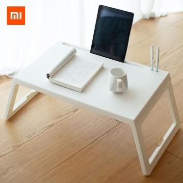 Xiaomi Youpin Jiezhi складной квадратный столик из PP Материал легкий складной с гнездом для планшета Переносное зарядное отверстие Ручка Переносной дизайн Сопротивление сжатию Нет специфического запаха