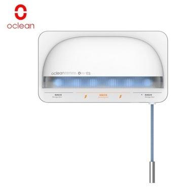 Oclean S1 Smart Zahnbürsten-Desinfektionsmittel UVC-Zahnbürstenhalter Perforierter, wandmontierter Zahnbürsten-Organizer mit 5 Steckplätzen / 1000 mAh / 2 Modi Anti-Bakterien-Zahnbürsten-Reinigungsmaschine für elektrische / normale Zahnbürsten