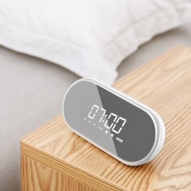 Xiaomi baseus encok bt lautsprecher mit wecker funktion tragbare drahtlose lautsprecher sound system für nacht büro e09 keine licht funktion