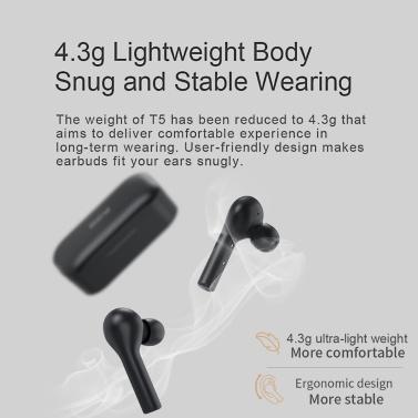 Xiaomi QCY T5 TWS Drahtlose Kopfhörer
