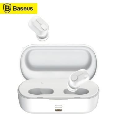 Xiaomi Baseus Encok TWS Наушники W01 BT5.0 Гарнитура Беспроводные наушники Спортивные наушники 2000 мАч Зарядная база с HD Mic Voice Voice Assistant для iPhone Huawei
