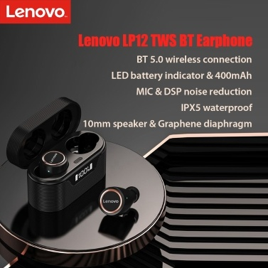 Lenovo LivePods LP12 TWS In-Ear Earphones