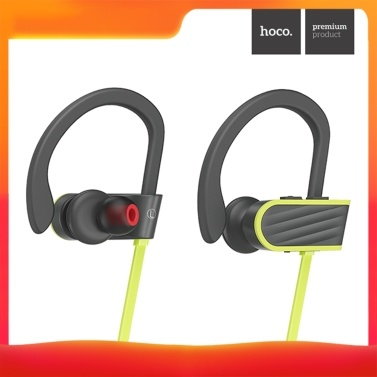 hoco. ES7 In-Ear-Sport-BT-Kopfhörer Wireless 4.1 Stereo-Kopfhörer Wasserdicht Sweatproof Sport-Ohrhörer mit Ohrbügel