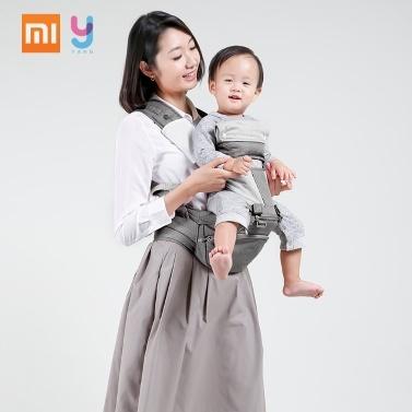 Xiaomi Xiaoyang Mutifunctional Babytrage Soft Breathable Baby Taille Hocker Verstellbares Baby Sling Rucksack Für Baby 3 bis 20 Monate