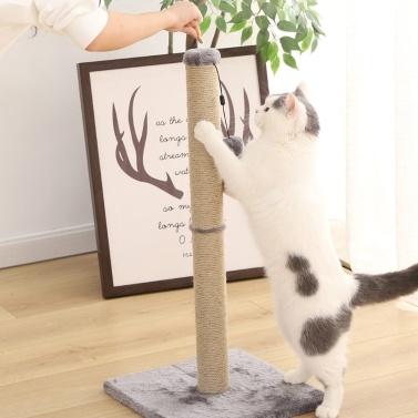 Xiaomi Youpin Cat Klettergerüst Column Shapen Scratcher Anti Bite Pet Spielzeug Abnehmbare Sichere Haustiere Verschleißfeste Spielen Training Katzenspielzeug Platzsparende