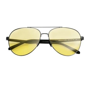 UREVO Tag Nacht Brille Polarisierte Flieger Brille HD Anti Blend Sonnenbrille für Männer Frauen