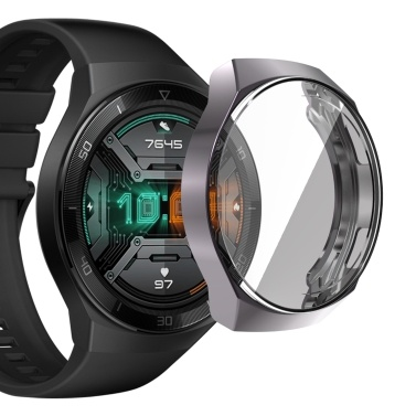 TPU Smart Watch Case Stoßfeste Schutzuhr Kratzfeste Smartatch-Abdeckung
